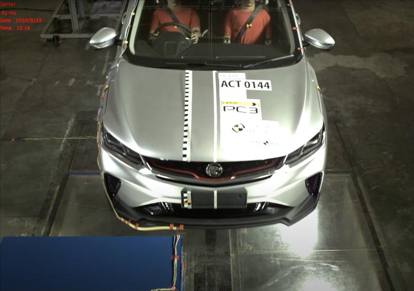 VIDEO: Proton X50 ASEAN NCAP crash test report Image #1190616