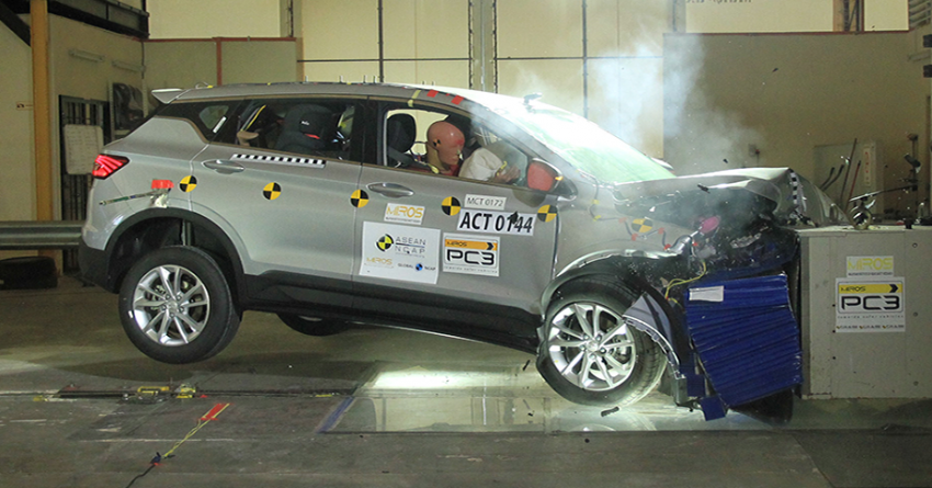 VIDEO: Proton X50 ASEAN NCAP crash test report Image #1190626