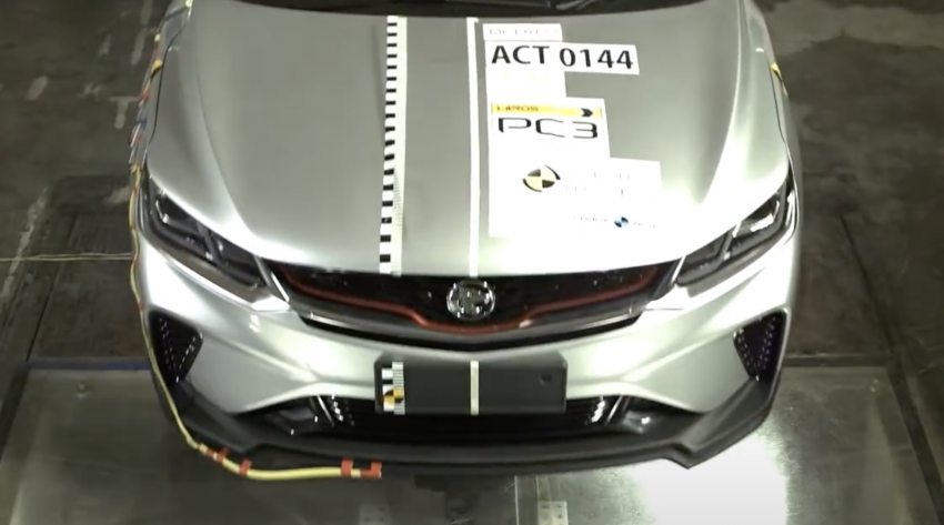 Proton X50 – ASEAN NCAP report reveals the Standard variant and confirms Thailand export plans Image #1190668