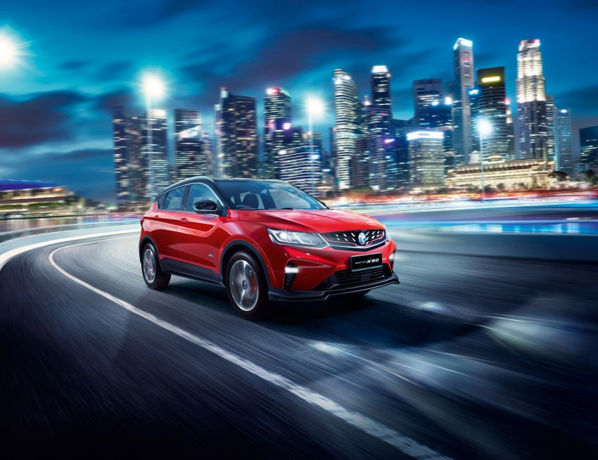 Proton X50 SUV launched – RM79,200 to RM103,300 Image #1200485