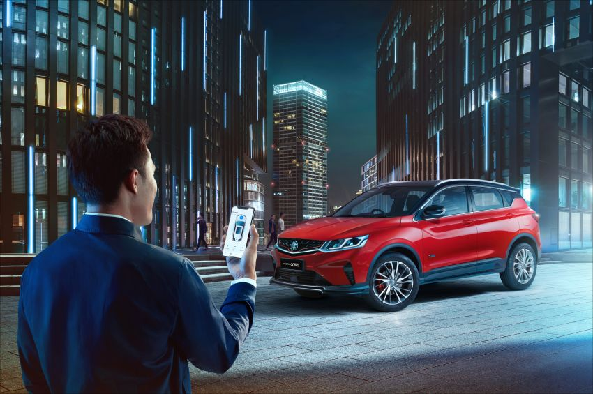 Proton X50 SUV launched – RM79,200 to RM103,300 Image #1200495