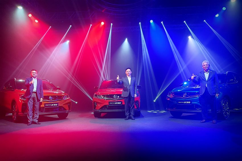 Proton X50 SUV launched – RM79,200 to RM103,300 Image #1200500