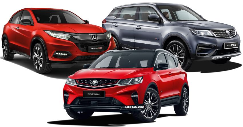 2020 Proton X50 versus the X70 and Honda HR-V – we compare servicing costs over five years/100,000 km Image #1200839