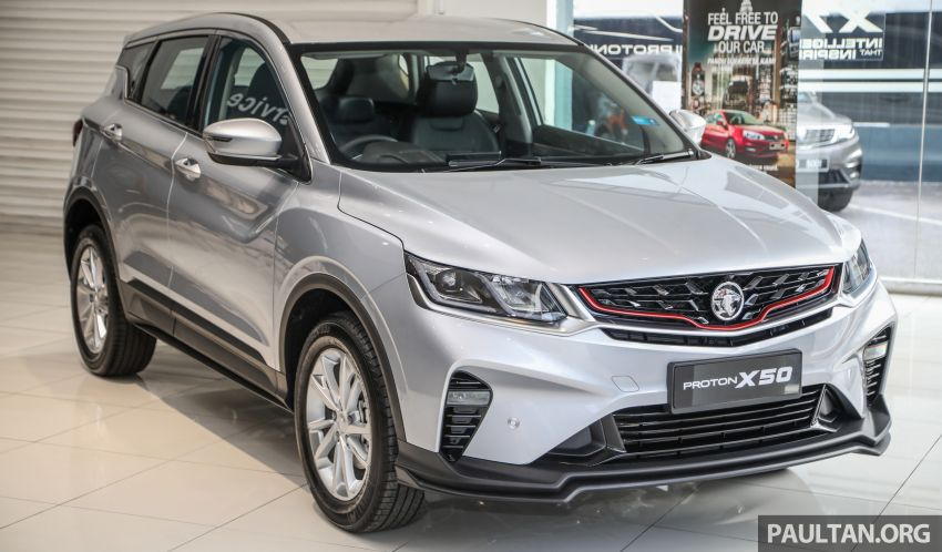 Proton X50 SUV launched – RM79,200 to RM103,300 Image #1199701