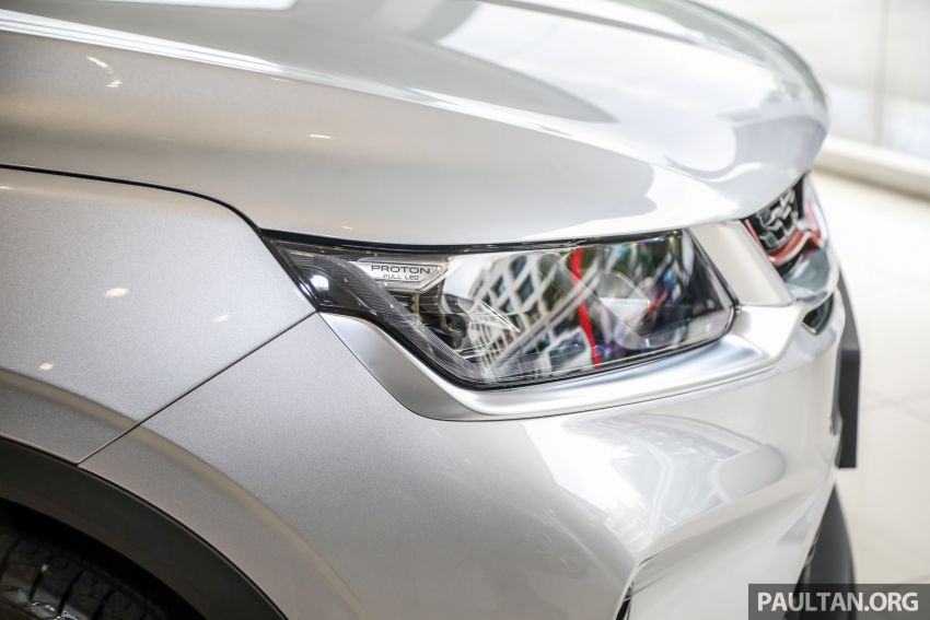 Proton X50 SUV launched – RM79,200 to RM103,300 Image #1199712