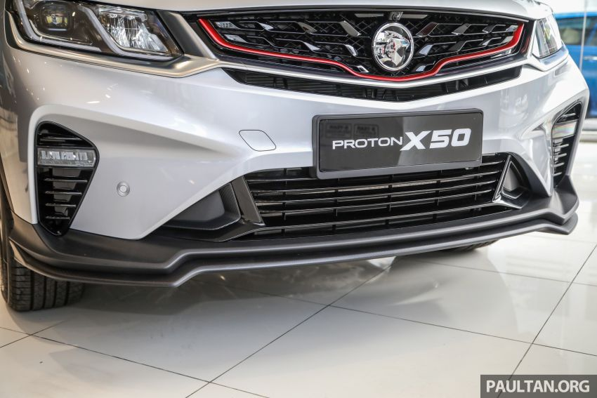Proton X50 SUV launched – RM79,200 to RM103,300 Image #1199714