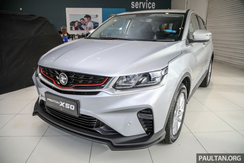 Proton X50 SUV launched – RM79,200 to RM103,300 Image #1199702