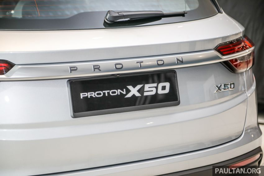 Proton X50 SUV launched – RM79,200 to RM103,300 Image #1199729