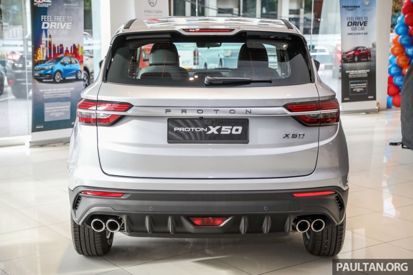 Proton X50 SUV launched – RM79,200 to RM103,300 Image #1199706