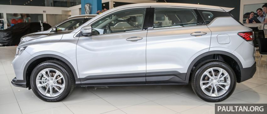 Proton X50 SUV launched – RM79,200 to RM103,300 Image #1199707