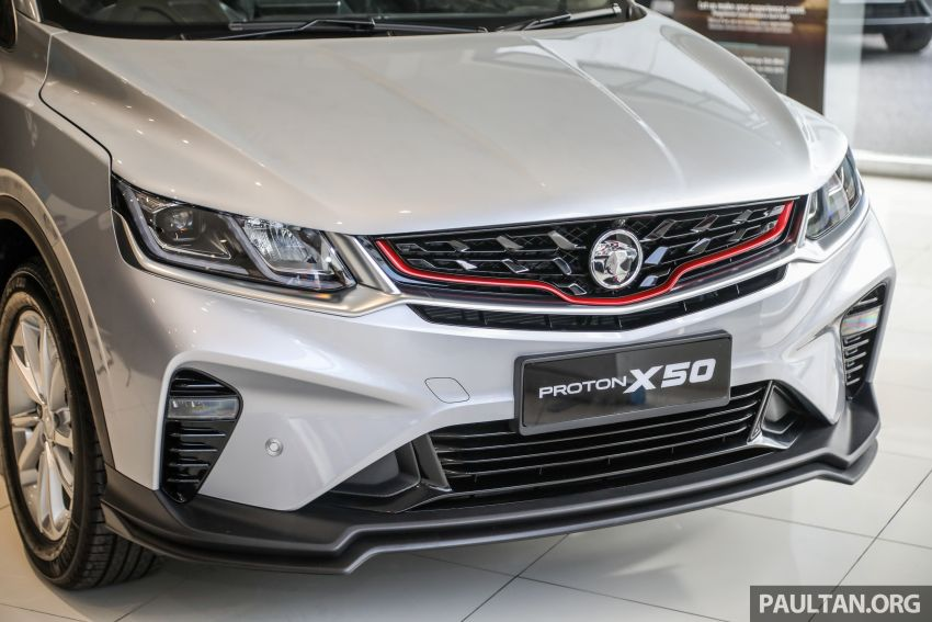 Proton X50 SUV launched – RM79,200 to RM103,300 Image #1199708