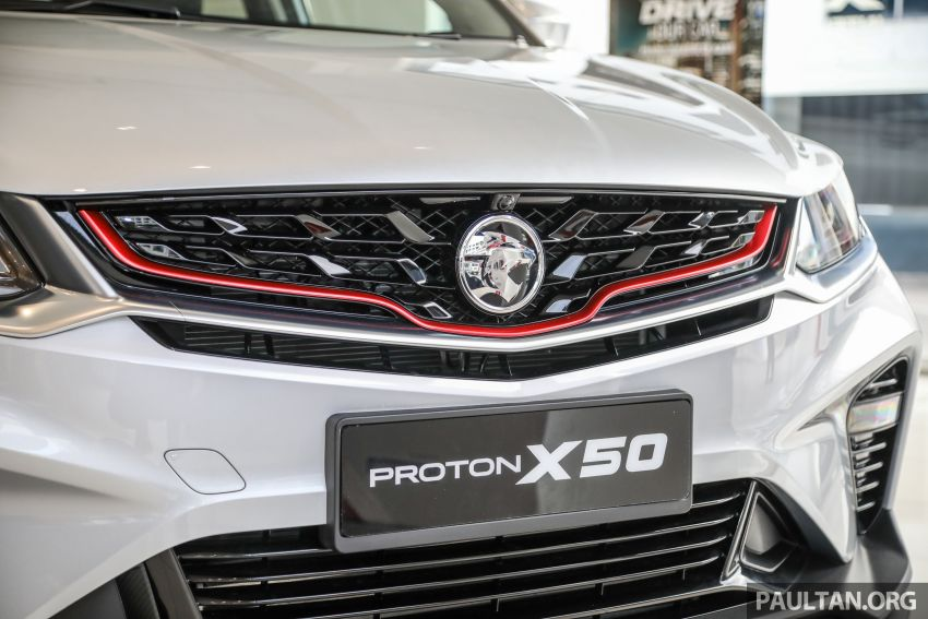 Proton X50 SUV launched – RM79,200 to RM103,300 Image #1199709