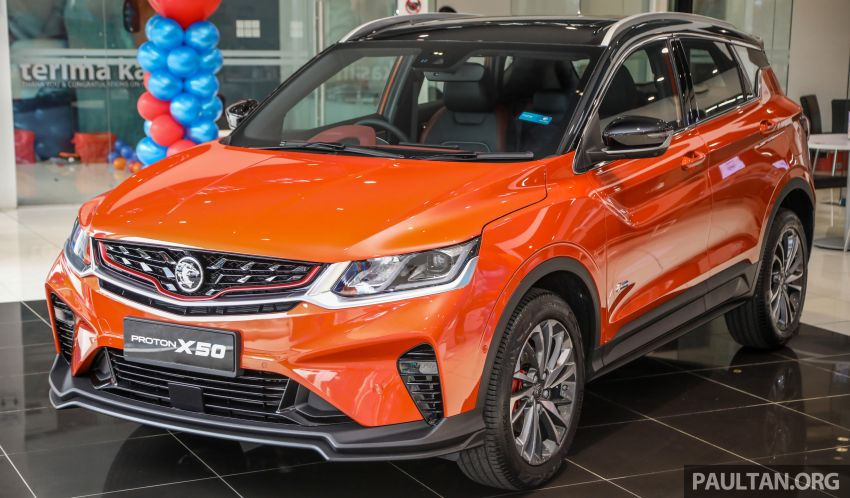 Proton X50 SUV launched – RM79,200 to RM103,300 Image #1199826