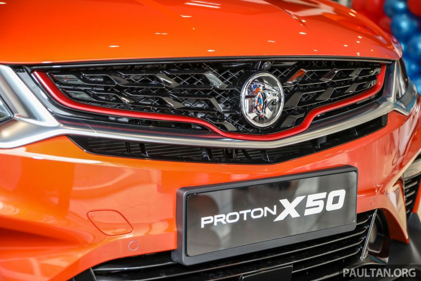 Proton X50 SUV launched – RM79,200 to RM103,300 Image #1199837