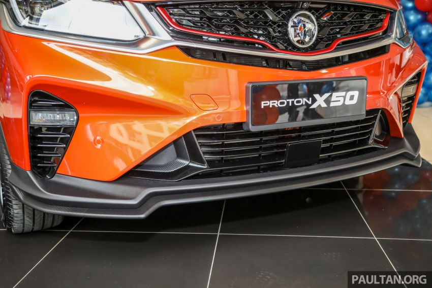 Proton X50 SUV launched – RM79,200 to RM103,300 Image #1199838