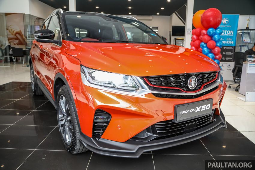 Proton X50 SUV launched – RM79,200 to RM103,300 Image #1199827