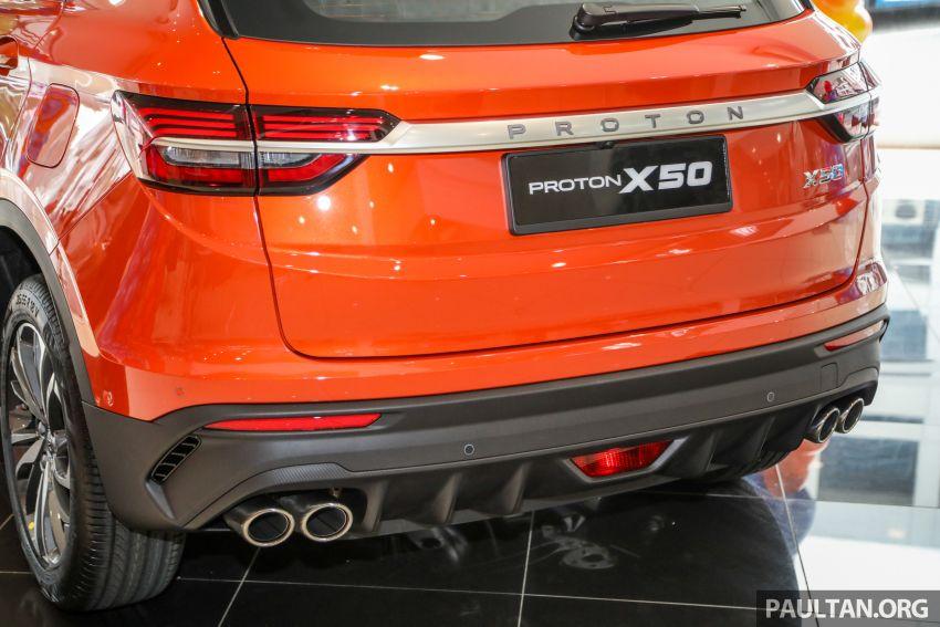 Proton X50 dilancarkan – bermula RM79k – RM103k Image #1199455