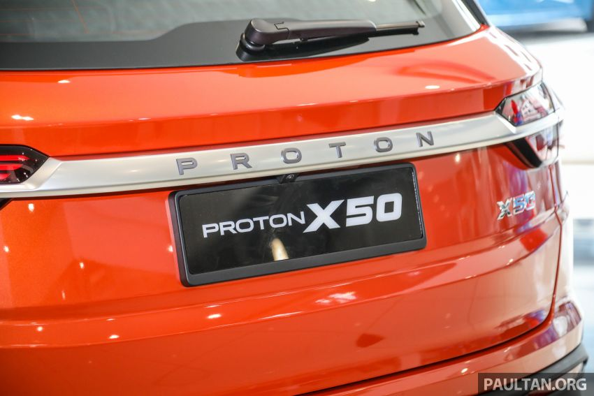 Proton X50 SUV launched – RM79,200 to RM103,300 Image #1199858