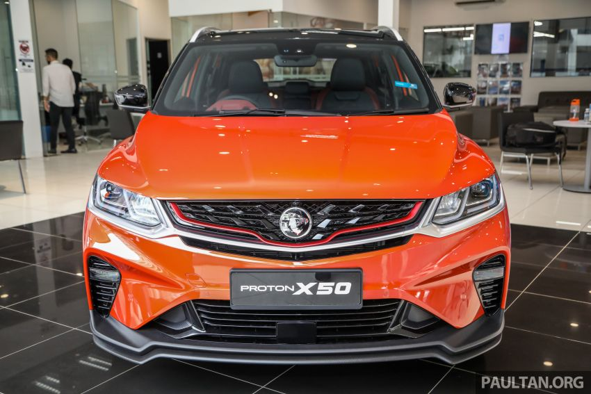 Proton X50 SUV launched – RM79,200 to RM103,300 Image #1199830