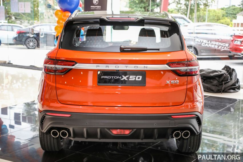 Proton X50 SUV launched – RM79,200 to RM103,300 Image #1199831