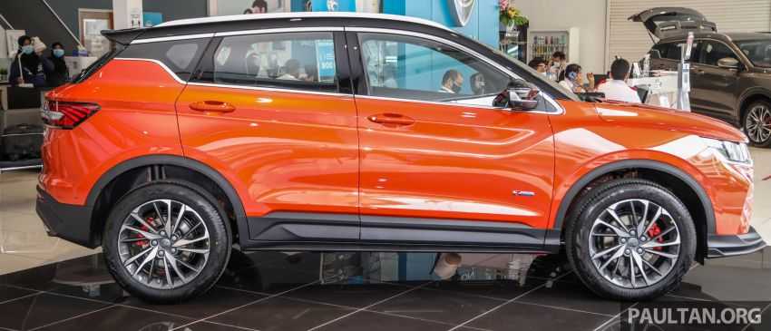 Proton X50 SUV launched – RM79,200 to RM103,300 Image #1199832