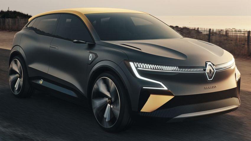 Renault Megane eVision previews 2021 electric hatch Image #1194201
