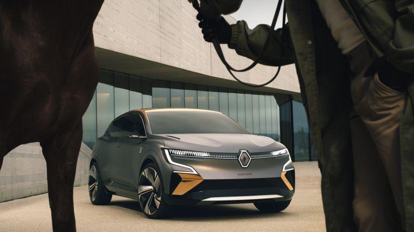 Renault Megane eVision previews 2021 electric hatch Image #1194210
