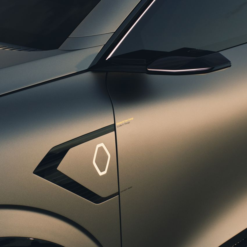 Renault Megane eVision previews 2021 electric hatch Image #1194213