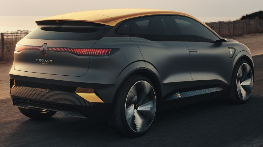 Renault Megane eVision previews 2021 electric hatch Image #1194202