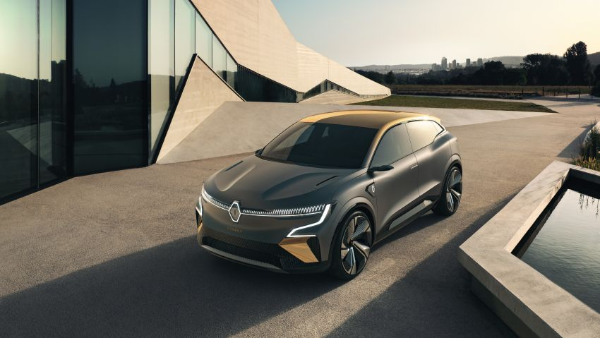Renault Megane eVision previews 2021 electric hatch Image #1194204