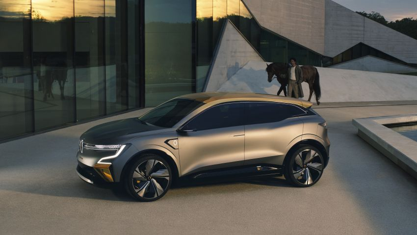 Renault Megane eVision previews 2021 electric hatch Image #1194208