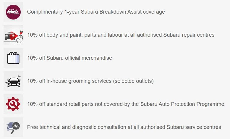 Subaru Auto Protection Programme launched in Malaysia – Silver and Gold packages; from RM1,300 Image #1191059