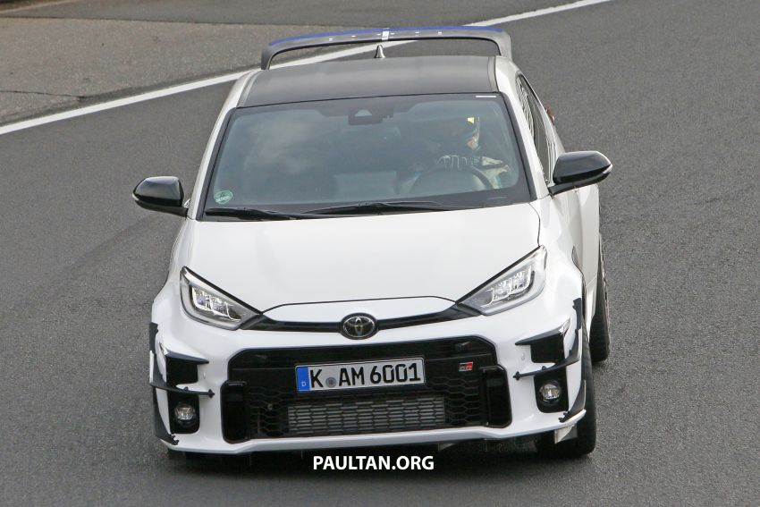 SPYSHOTS: Toyota GR Yaris – hotter version coming? Image #1193319