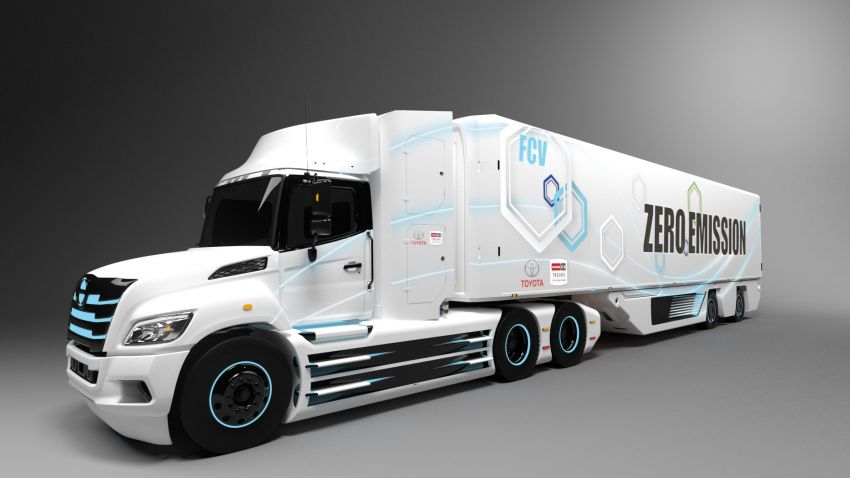 Toyota and Hino to develop a fuel-cell electric truck Image #1188360