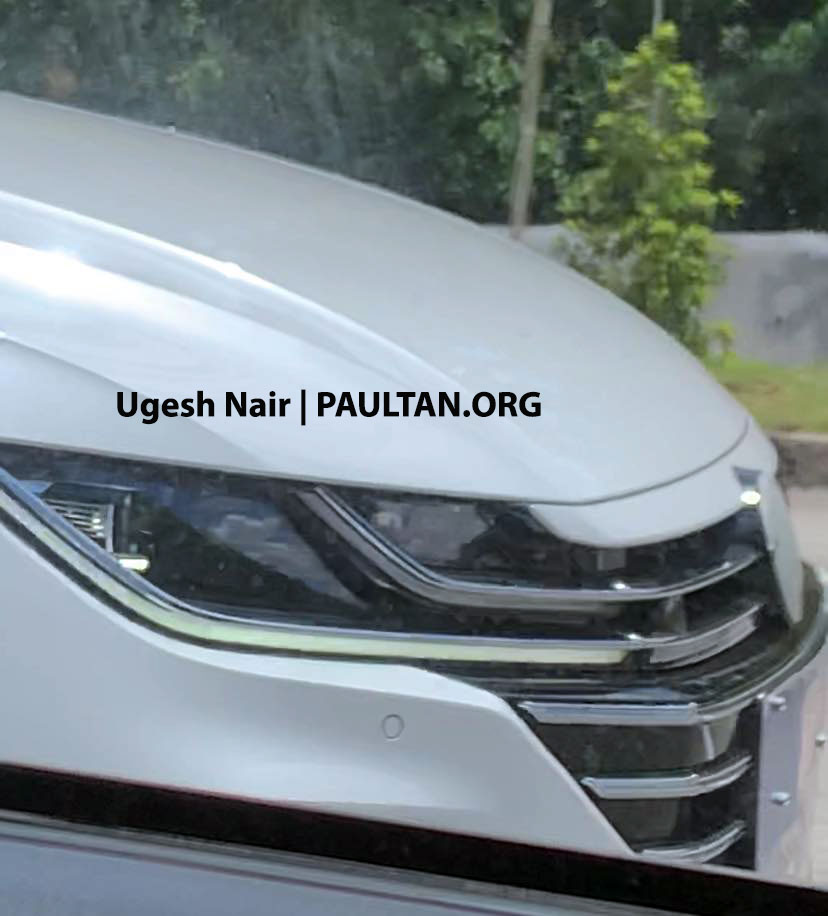 SPIED: Volkswagen Arteon facelift testing in Malaysia Image #1189716