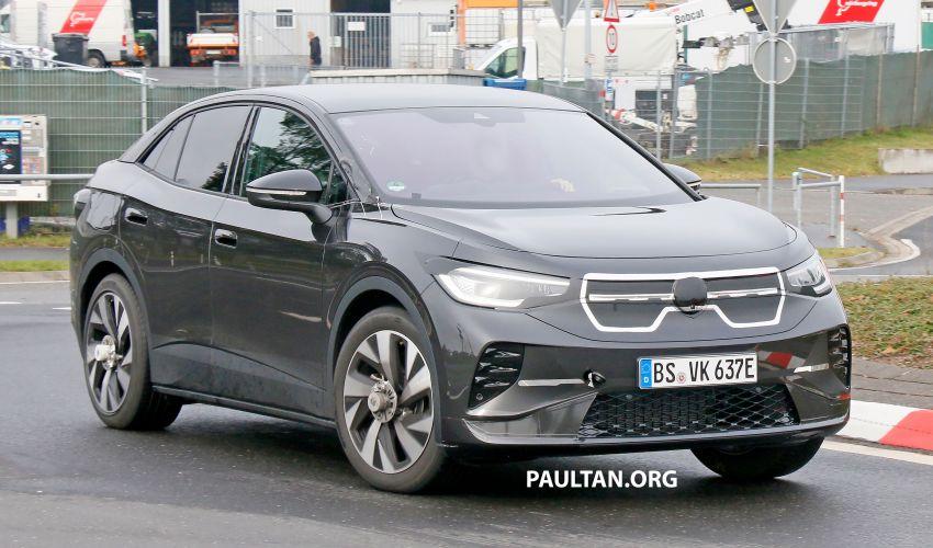 SPYSHOTS: Volkswagen ID.4 coupe/ID.5 seen testing Image #1194565
