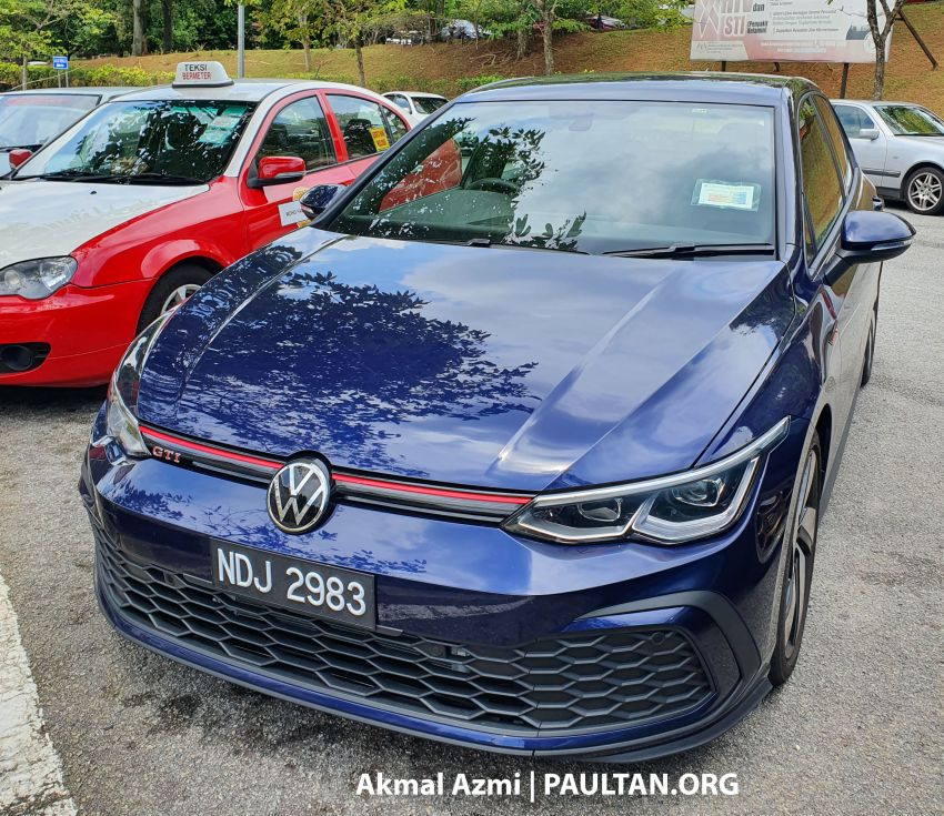 Volkswagen Golf GTI Mk8 spotted in Malaysia – CKD Image #1187896