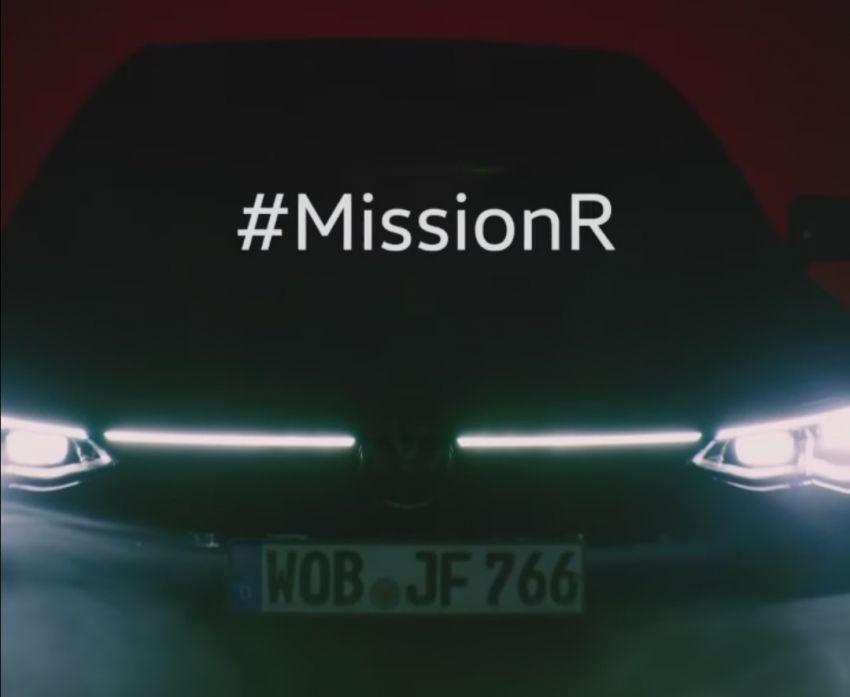 Volkswagen Golf R Mk8 teased ahead of Nov 4 debut Image #1194219
