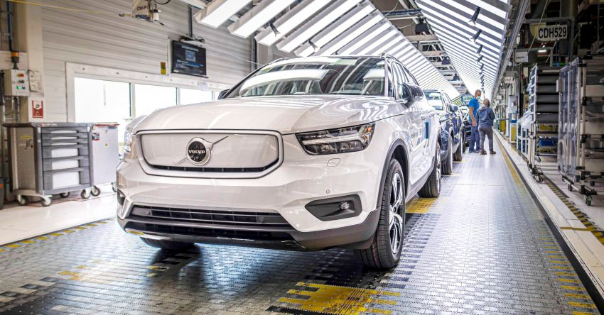 Volvo XC40 Recharge – electric SUV enters production Image #1187155