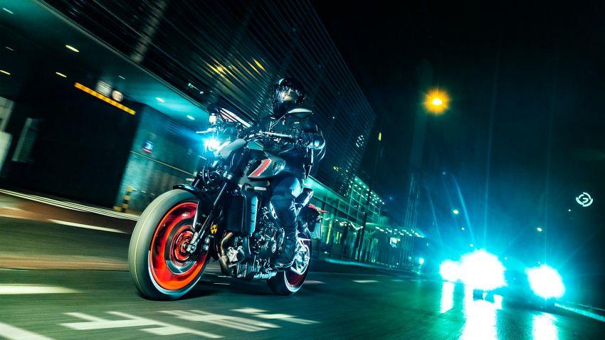 Yamaha MT-09 2021 didedah – hampir semua bahagian dipertingkat termasuk casis, enjin dan elektronik Image #1200864