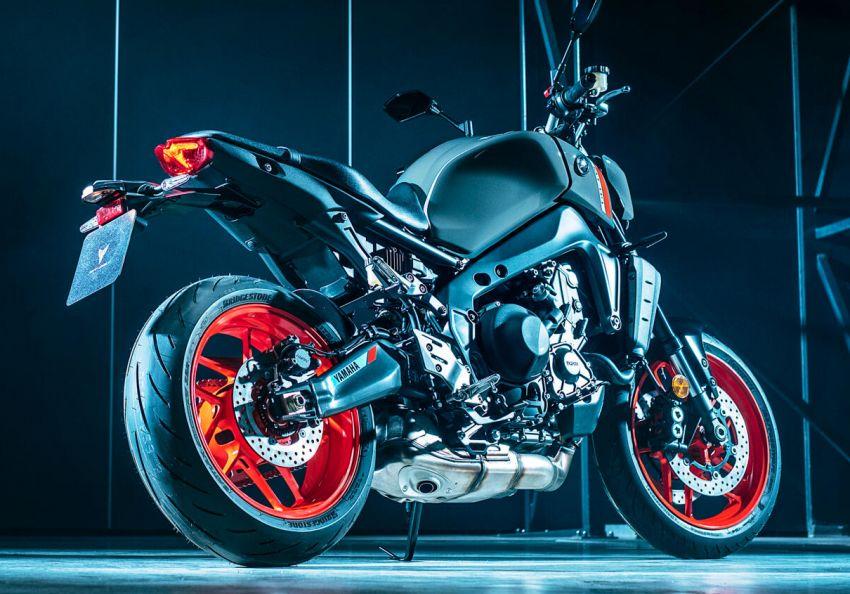 Yamaha MT-09 2021 didedah – hampir semua bahagian dipertingkat termasuk casis, enjin dan elektronik Image #1200861