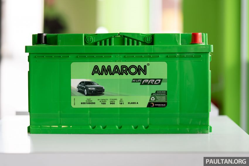 Here's how to spot an official Amaron car battery, and how to register for the 36-month pro-rata warranty Image #1205895