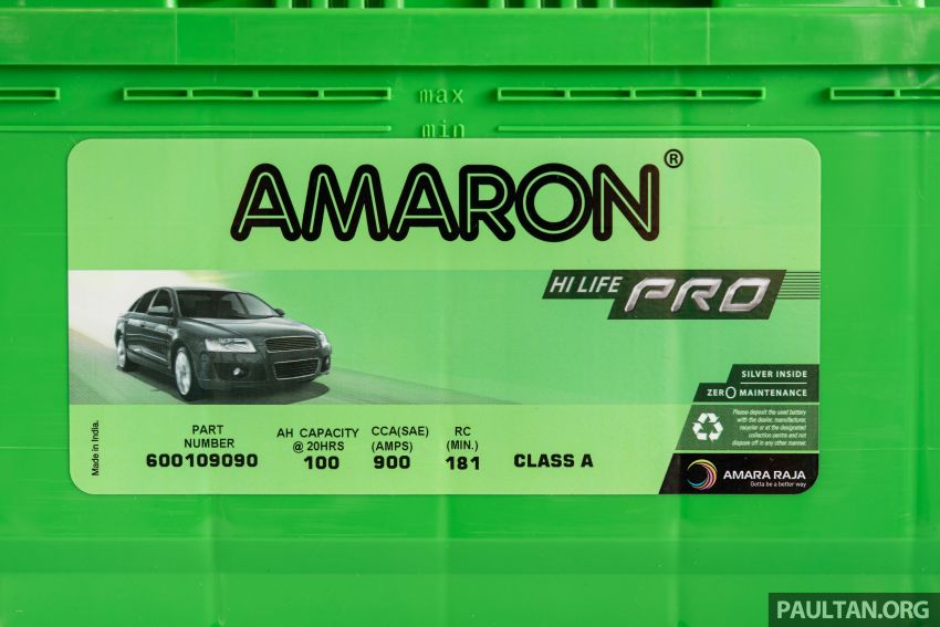 Here's how to spot an official Amaron car battery, and how to register for the 36-month pro-rata warranty Image #1205897