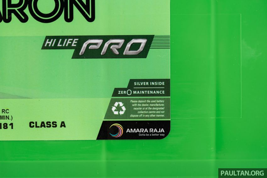 Here's how to spot an official Amaron car battery, and how to register for the 36-month pro-rata warranty Image #1205898