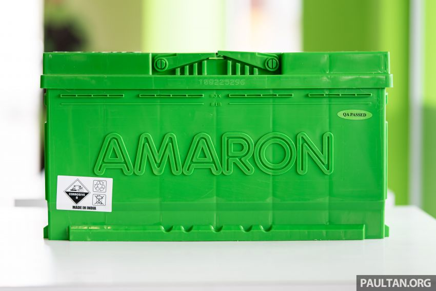 Here's how to spot an official Amaron car battery, and how to register for the 36-month pro-rata warranty Image #1205899
