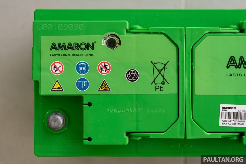Here's how to spot an official Amaron car battery, and how to register for the 36-month pro-rata warranty Image #1205902