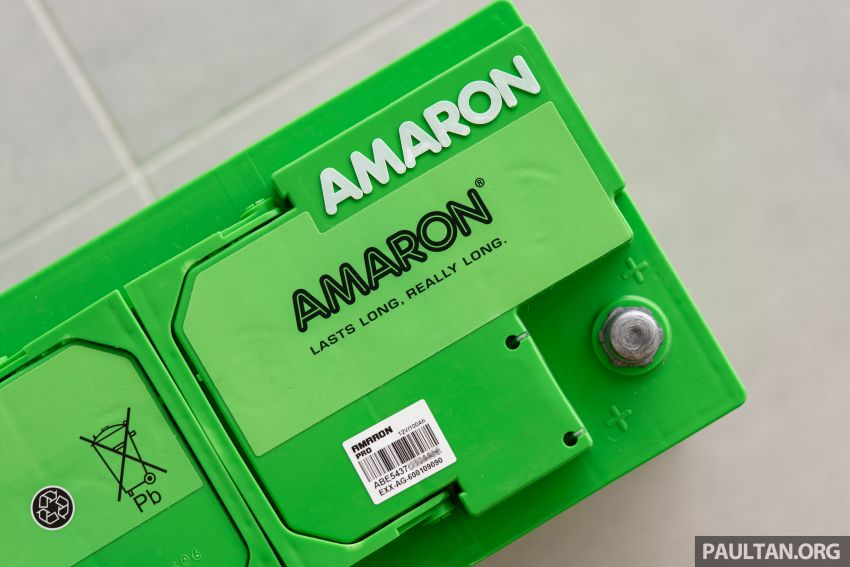 Here's how to spot an official Amaron car battery, and how to register for the 36-month pro-rata warranty Image #1205903