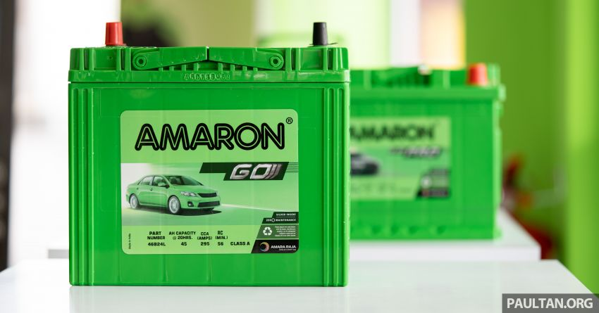 Here's how to spot an official Amaron car battery, and how to register for the 36-month pro-rata warranty Image #1205904