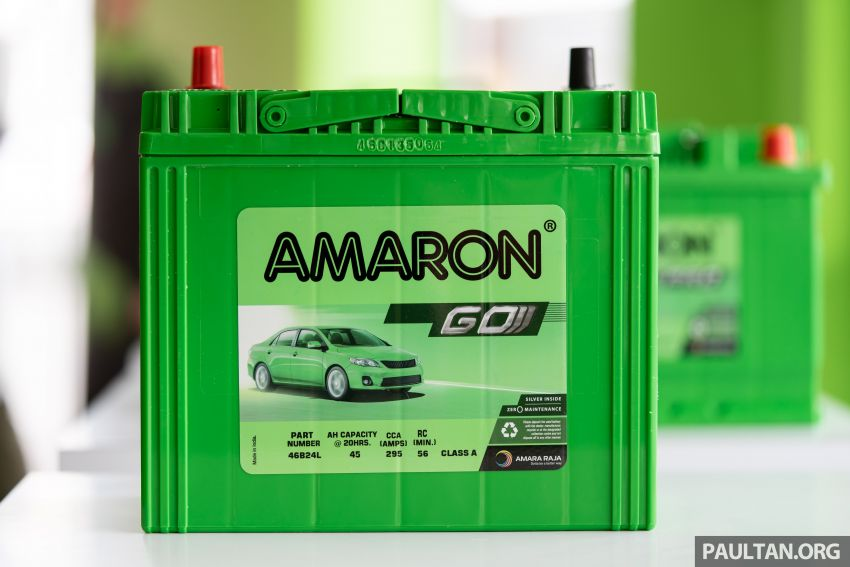 Here's how to spot an official Amaron car battery, and how to register for the 36-month pro-rata warranty Image #1205906