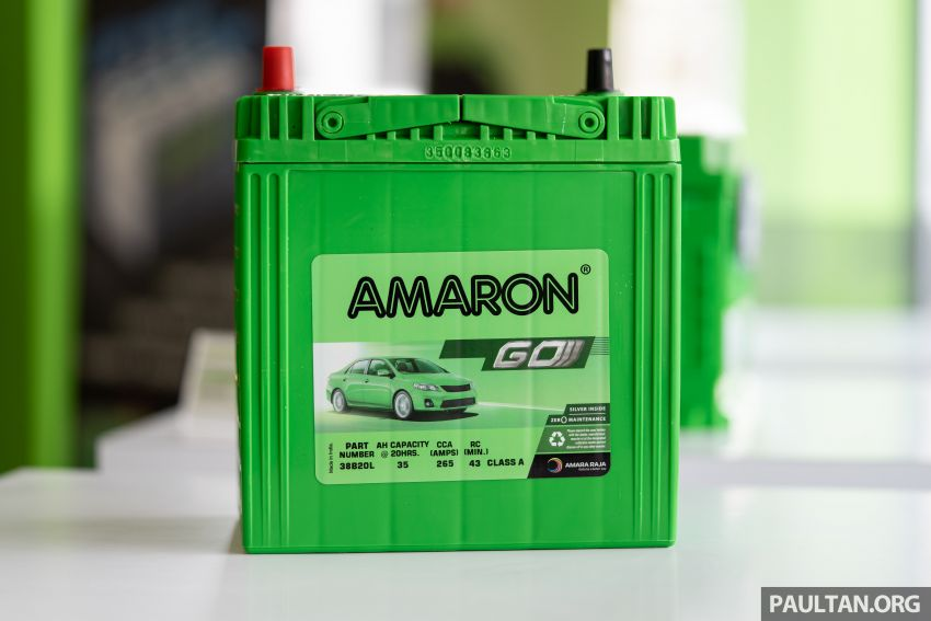 Here's how to spot an official Amaron car battery, and how to register for the 36-month pro-rata warranty Image #1205918